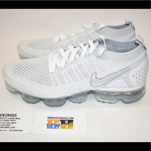 best service 44c2f 31e56 Nike Air Vapormax Flyknit 2 white